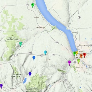 Finger Lakes Permaculture Tour Maps Published.